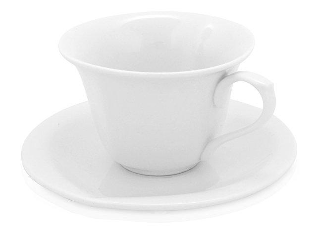 Чайная пара: чашка на 180 мл с блюдцем