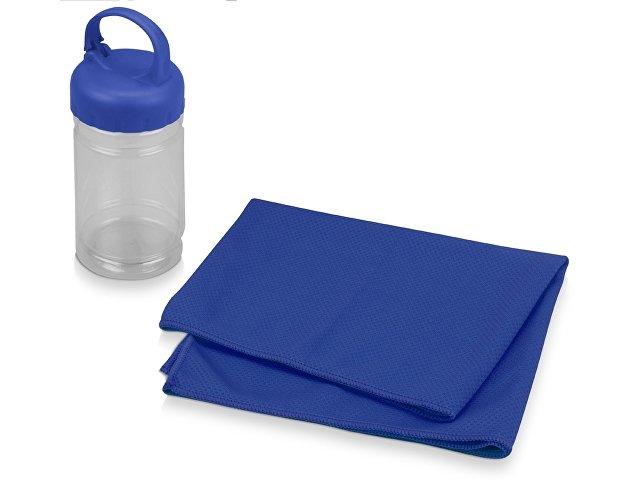Набор для фитнеса «Cross», синий