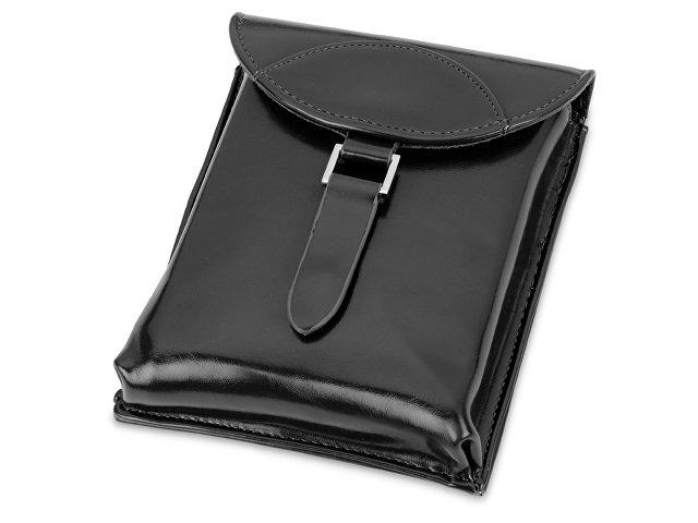 Набор аксессуаров для чистки обуви «Кэрролтон», черный, натуральный