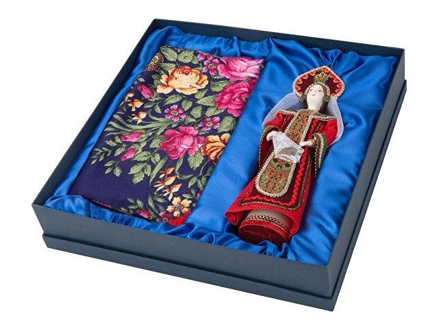 Набор «Евдокия»: кукла в народном костюме, платок, красный