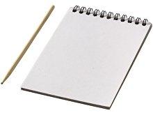Цветной набор «Scratch»: блокнот, деревянная ручка (арт. 10705500)