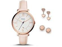 Подарочный набор: часы наручные женские, пусеты (арт. 29450)
