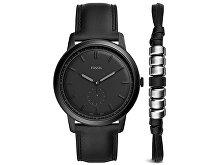 Подарочный набор: часы наручные мужские, браслет (арт. 29454)