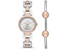 Подарочный набор: часы наручные женские, браслет (арт. 29457)