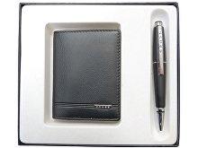 Набор «Classic Century»: обложка для кредитных и визитных карт, ручка роллер (арт. 421173)