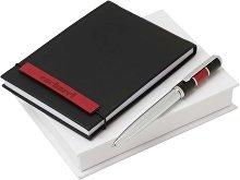 Набор: блокнот дизайнерский А6, ручка шариковая (арт. 60403)