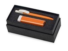Подарочный набор White top с ручкой и зарядным устройством (арт. 700302.13)