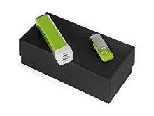 Подарочный набор Flashbank с флешкой и зарядным устройством (арт. 700305.03)