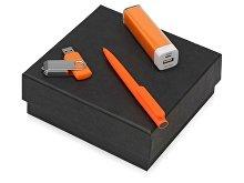Подарочный набор On-the-go с флешкой, ручкой и зарядным устройством (арт. 700315.13)