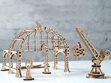 3D-ПАЗЛ UGEARS «Манипулятор на рельсах» (арт. 70032), фото 4