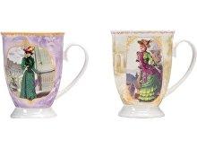 Набор «Дамы высшего общества»: две кружки и чайное ситечко (арт. 875908)