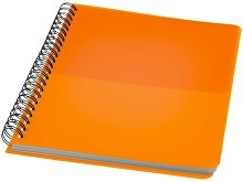 Блокнот ColourBlock А5, оранжевый
