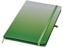Блокнот А5 Gradient, зеленый