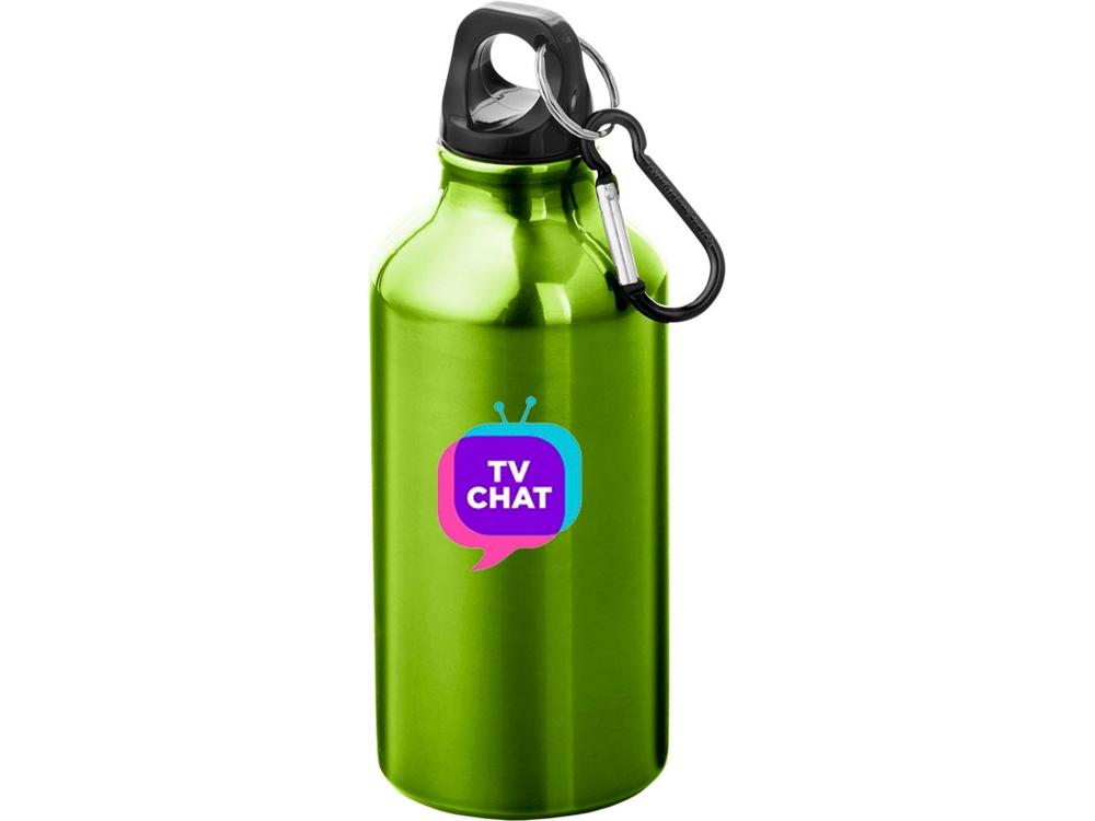 Бутылка Oregon с карабином, зеленое яблоко