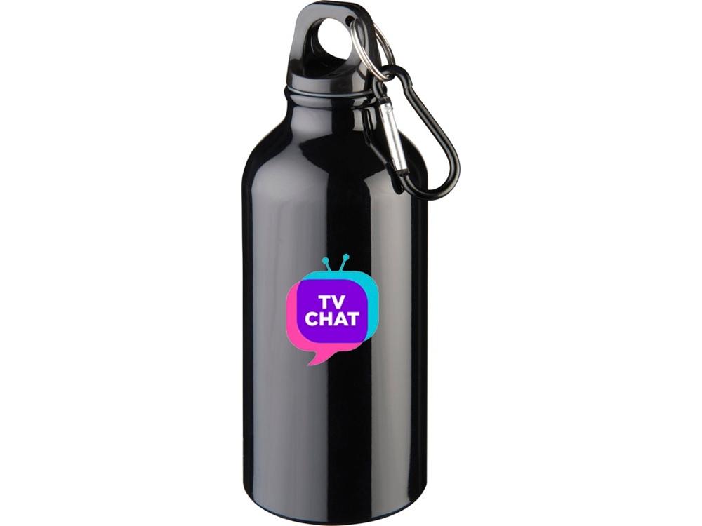 Бутылка Oregon с карабином, черный