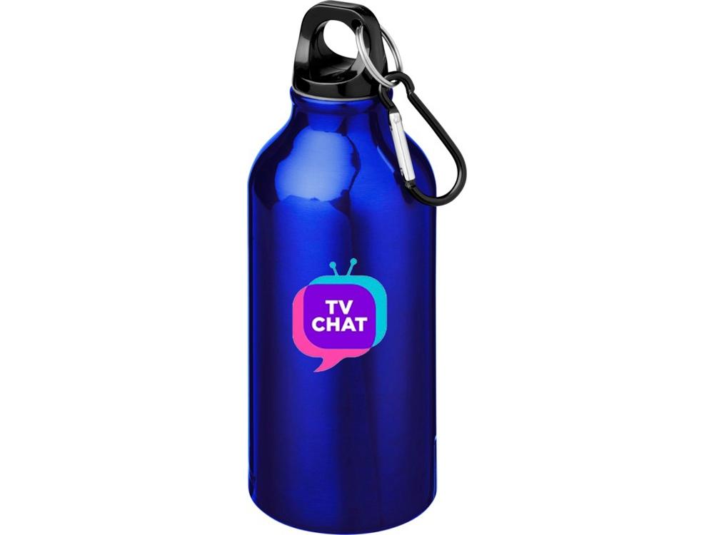 Бутылка Oregon с карабином, синий