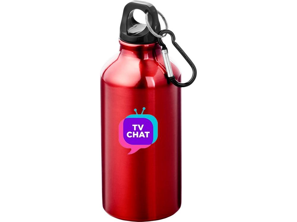 Бутылка Oregon с карабином, красный