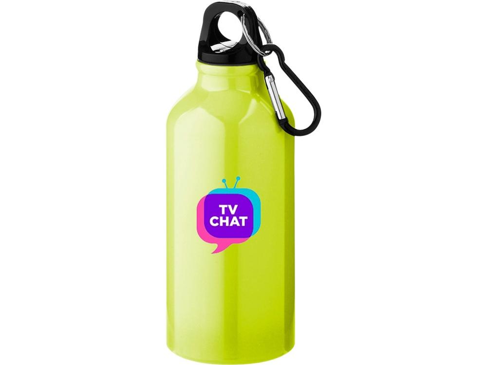 Бутылка Oregon с карабином, неоновый желтый