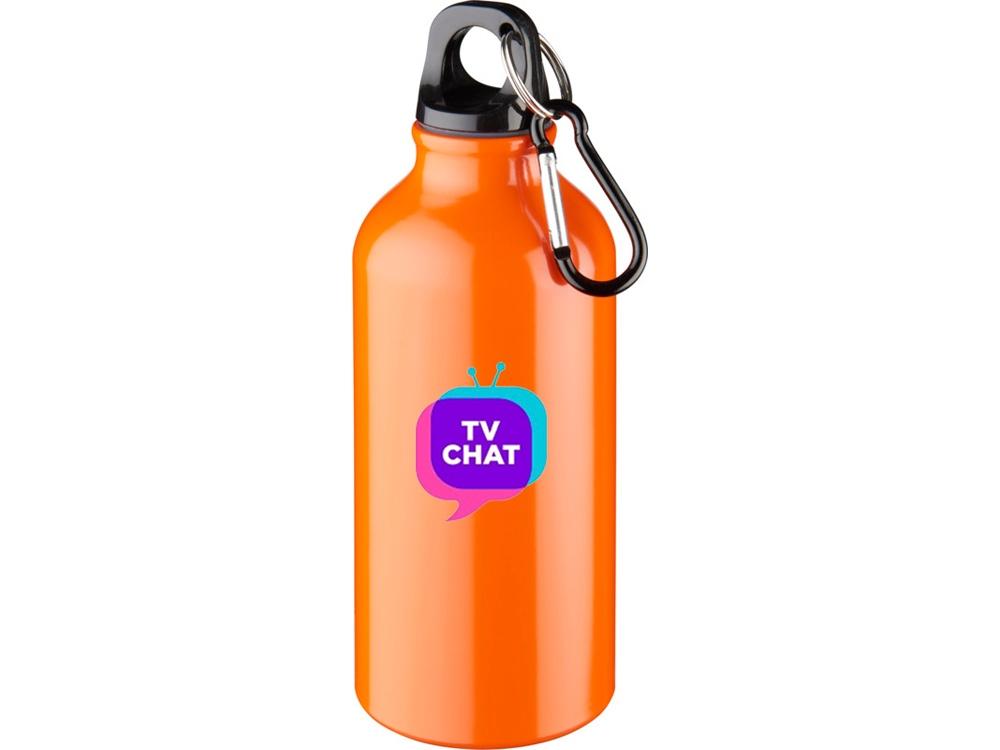 Бутылка Oregon с карабином, оранжевый