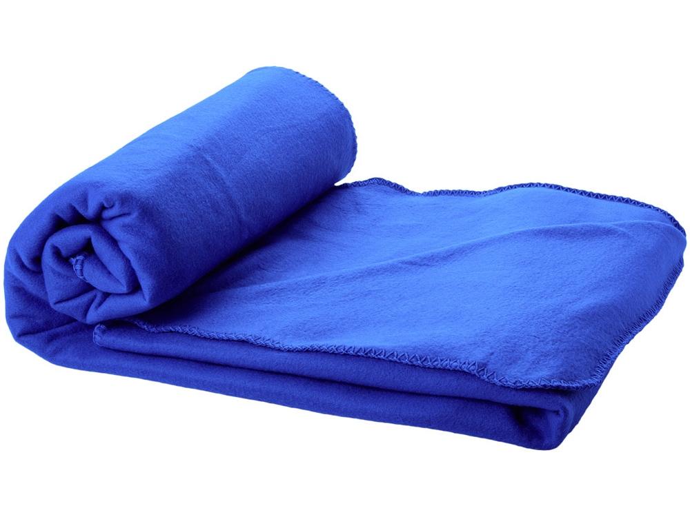 Плед Huggy в чехле, ярко-синий