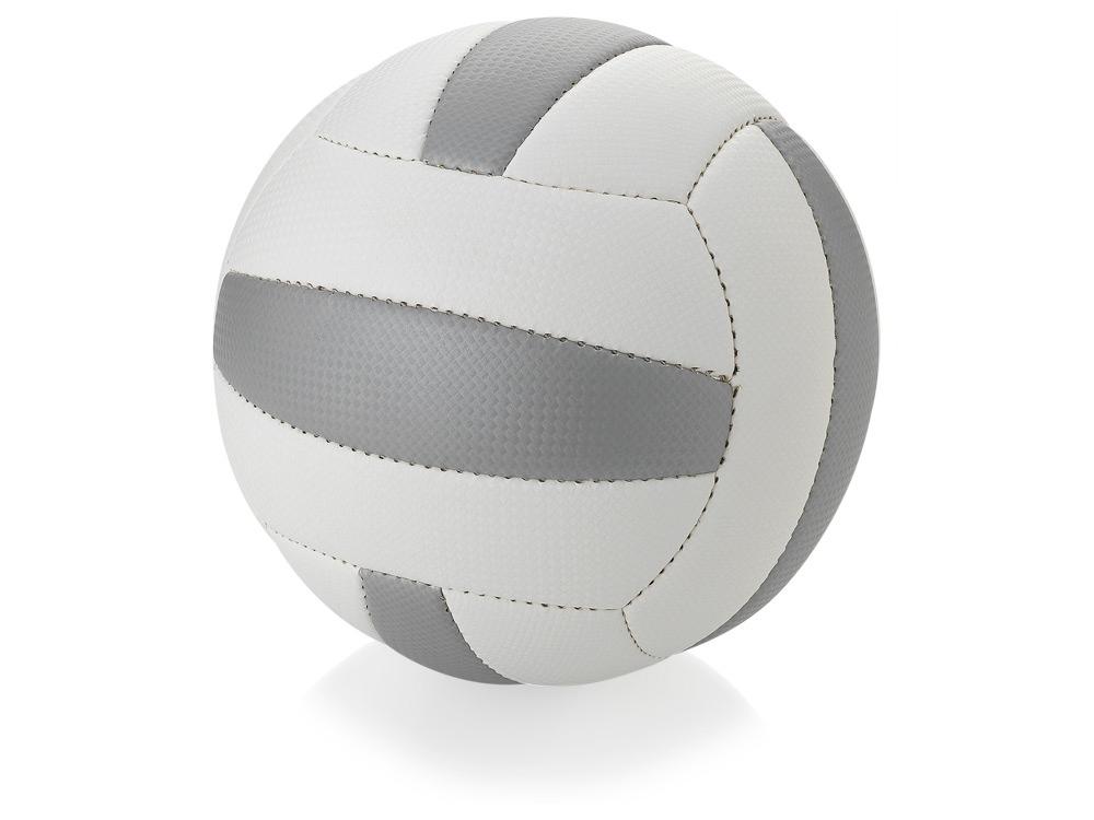 Мяч для пляжного волейбола «Nitro», размер 5, белый/серый