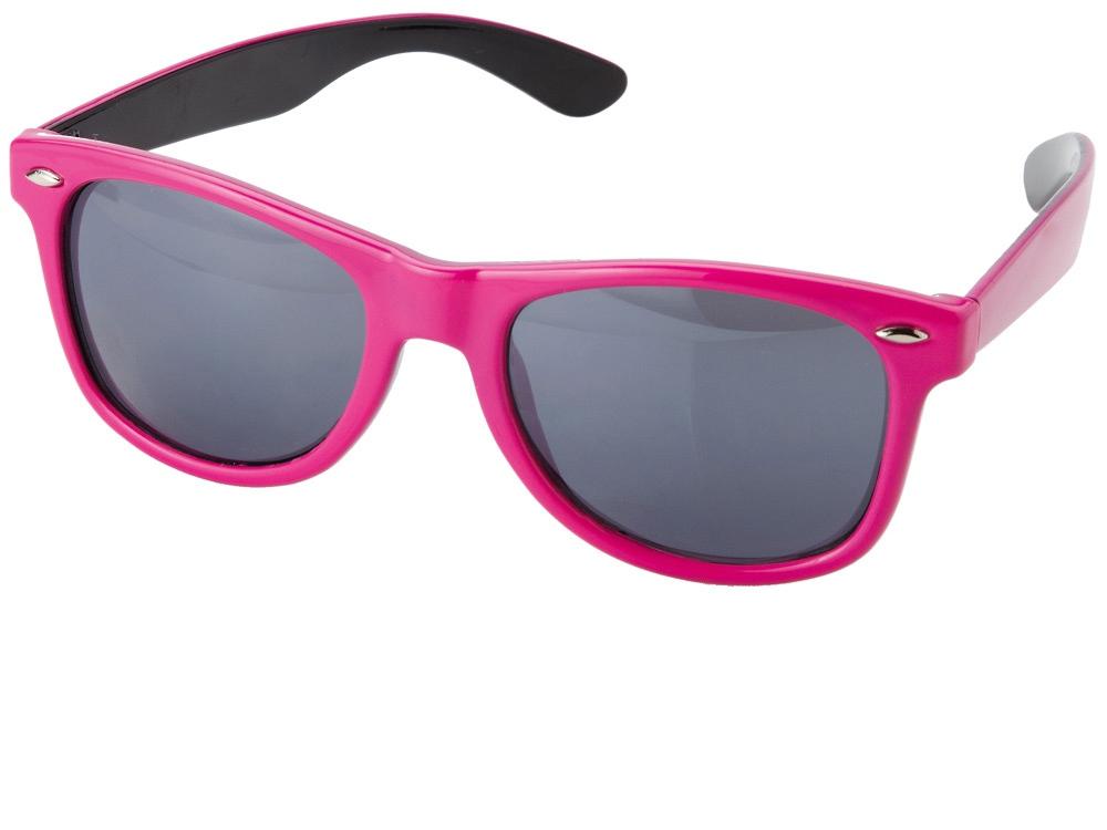 Очки солнцезащитные Crockett, розовый/черный