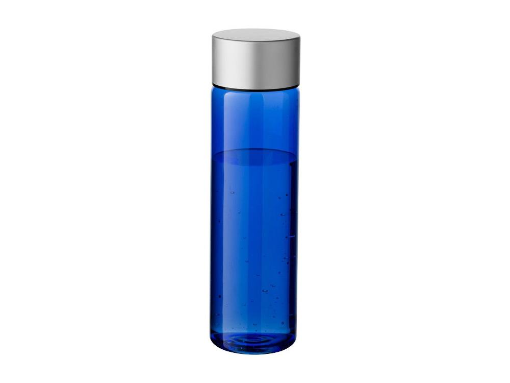 Бутылка Fox 900мл, синий прозрачный/серебристый