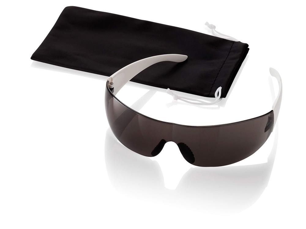 Очки солнцезащитные Sunscreen, белый/черный