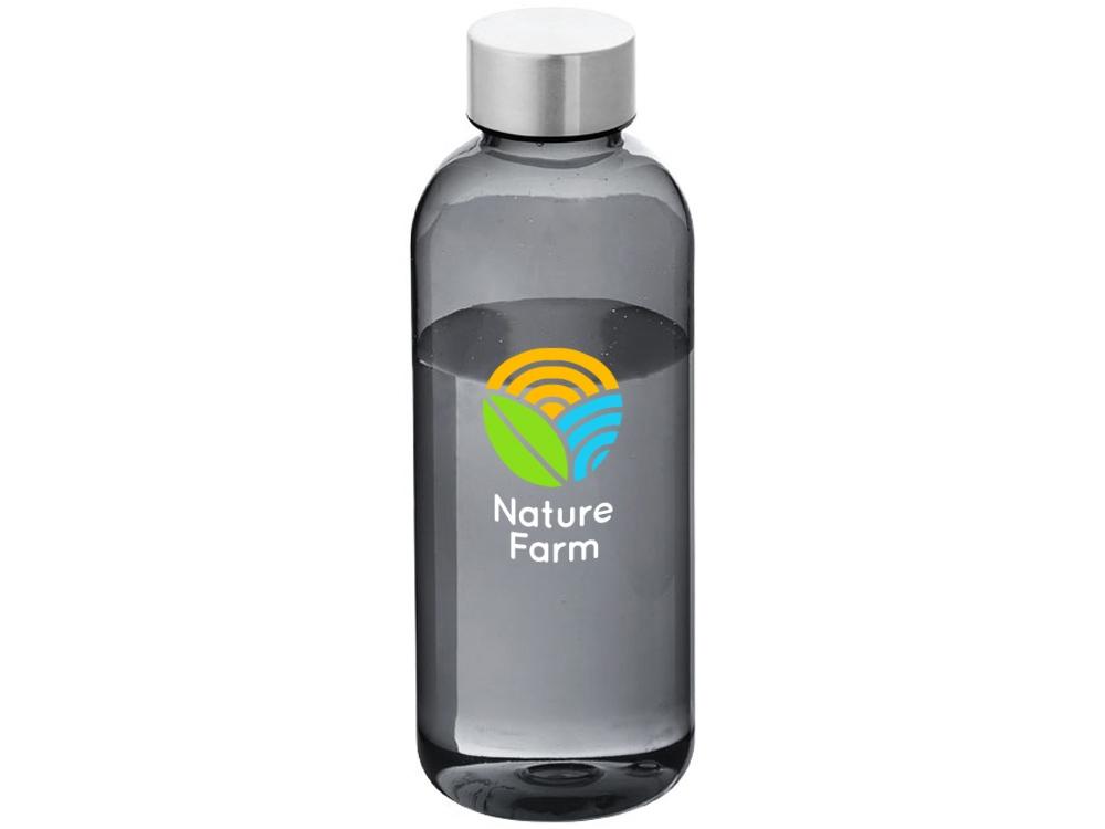 Бутылка Spring 600мл, черный прозрачный
