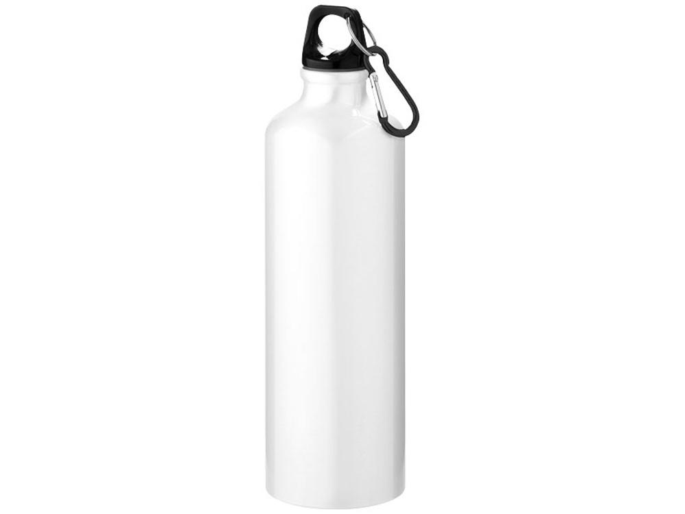Бутылка Pacific с карабином, белый