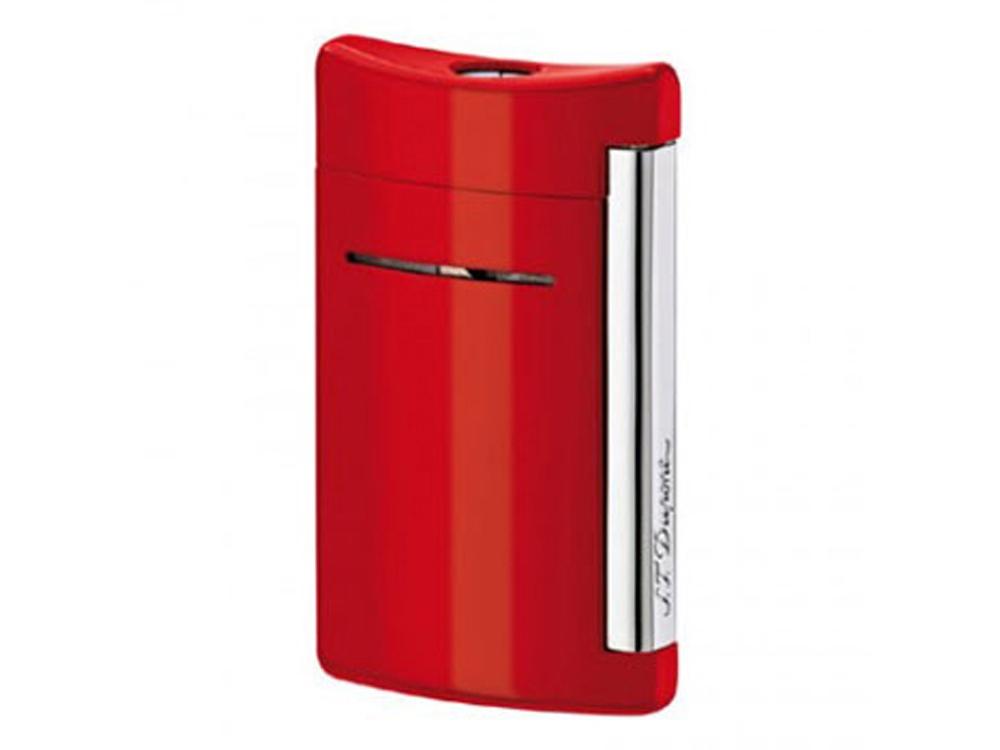 Зажигалка Minijet. S.T. Dupont, красный/серебристый