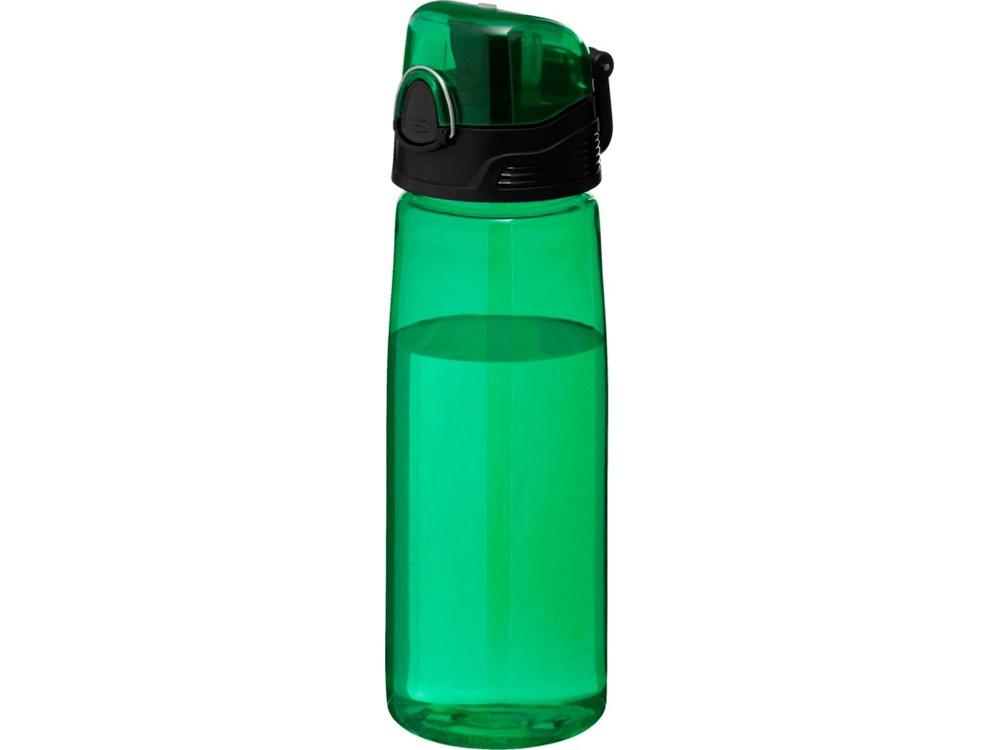 Бутылка спортивная Capri, зеленый