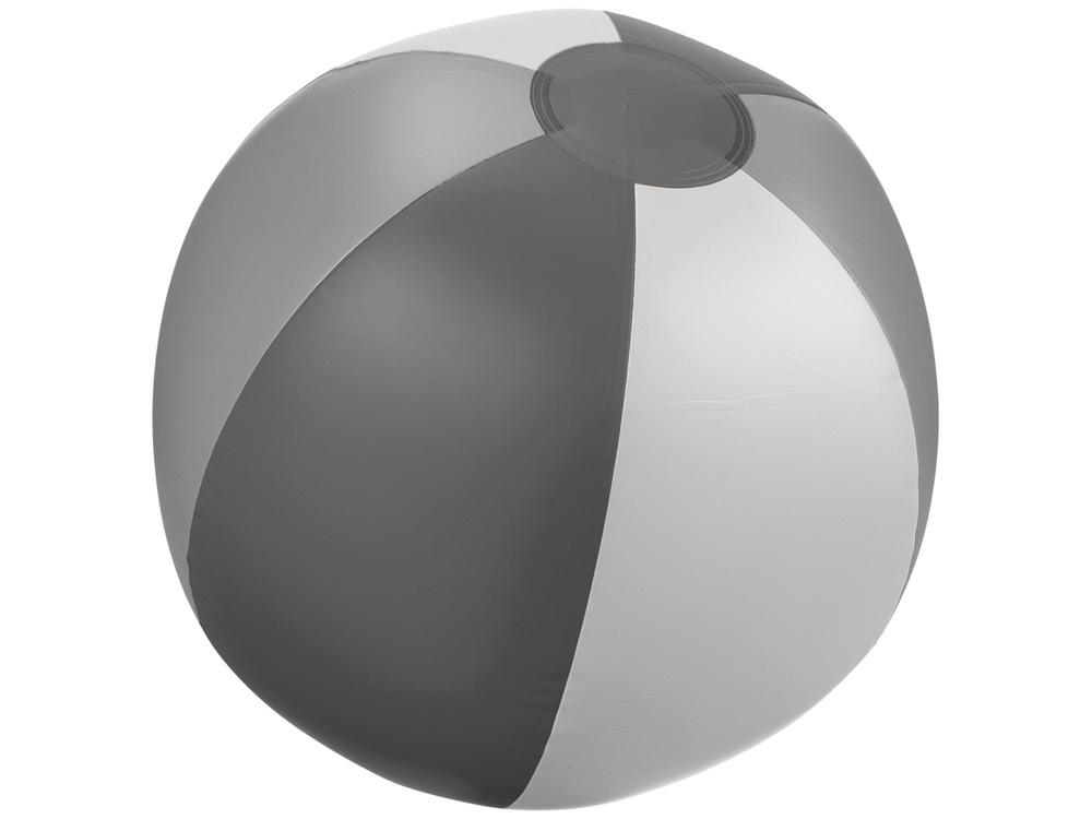 Мяч надувной пляжный «Trias», серый