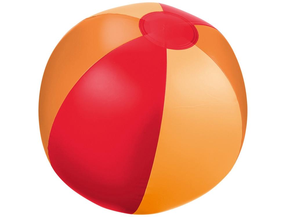 Мяч надувной пляжный «Trias», красный