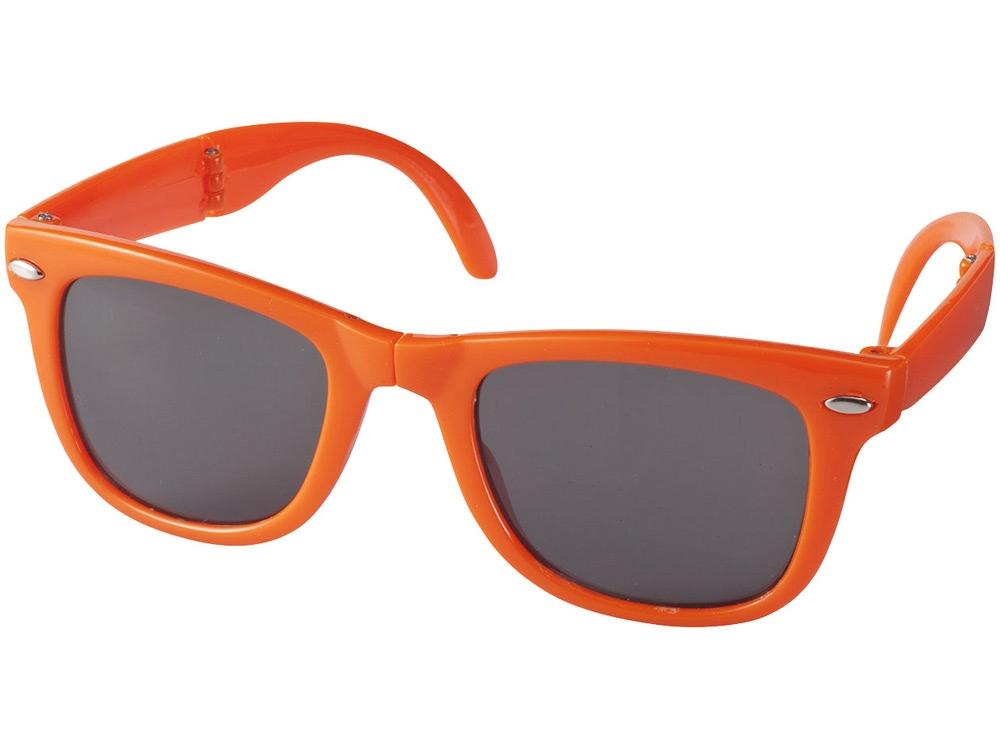 Очки солнцезащитные Sun Ray складные, оранжевый