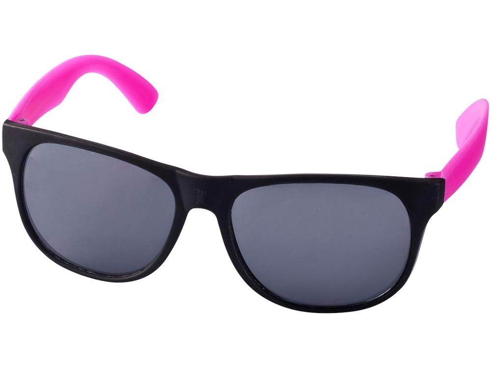 Очки солнцезащитные Retro, неоново-розовый