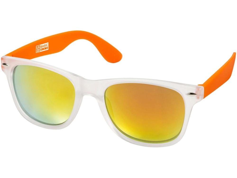Солнцезащитные очки California, бесцветный полупрозрачный/оранжевый