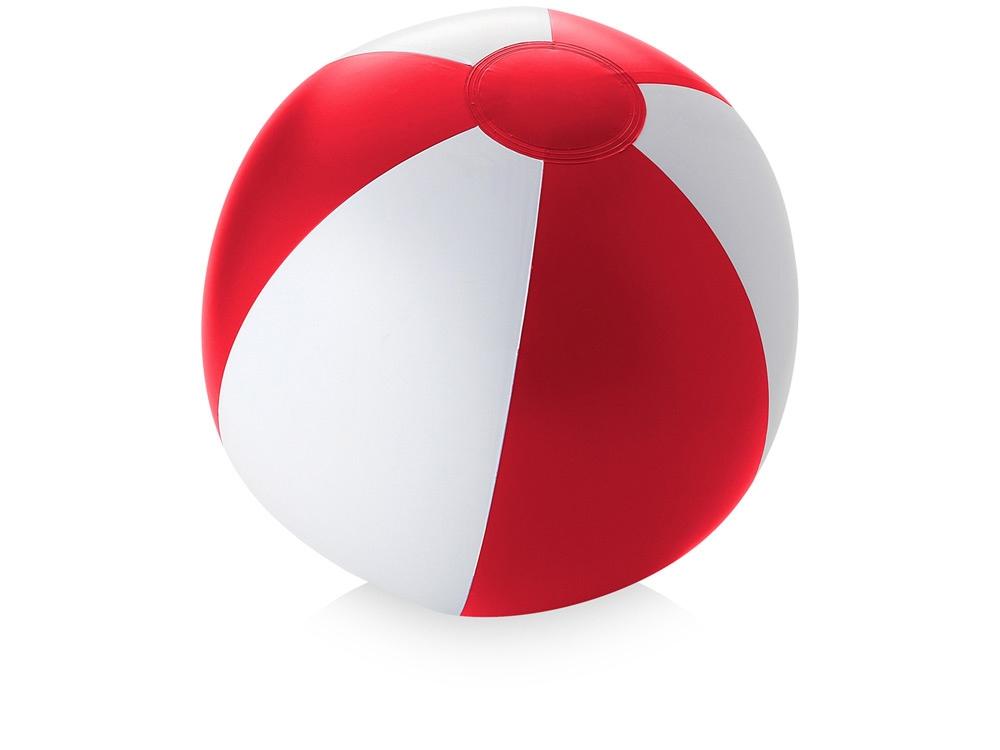 Пляжный мяч «Palma», красный/белый