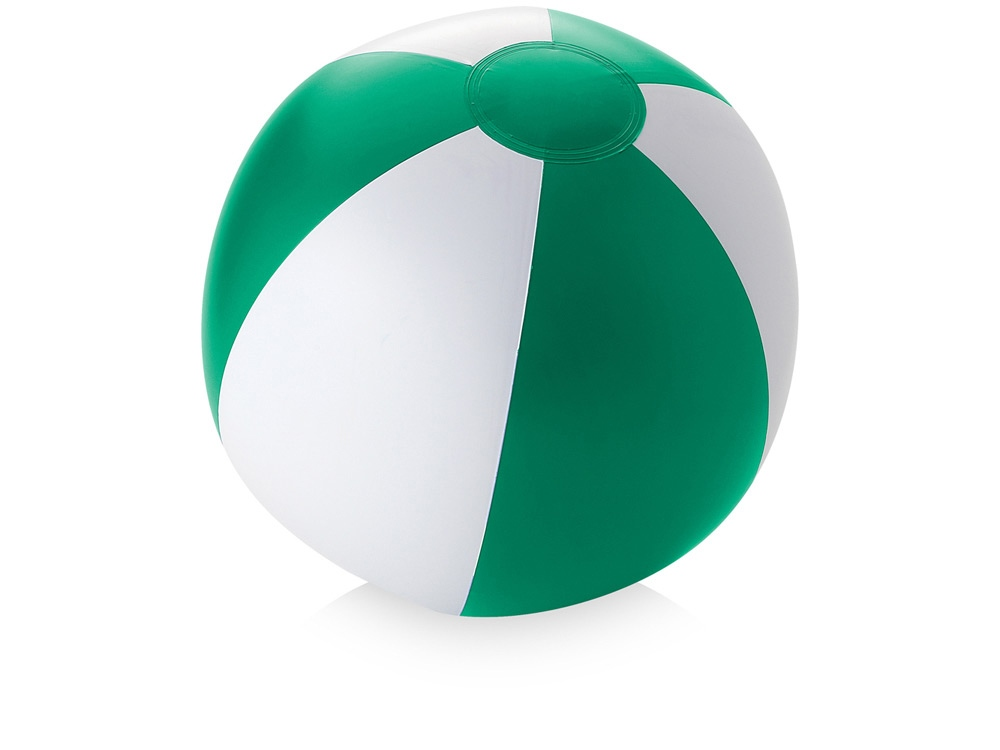 Пляжный мяч «Palma», зеленый/белый