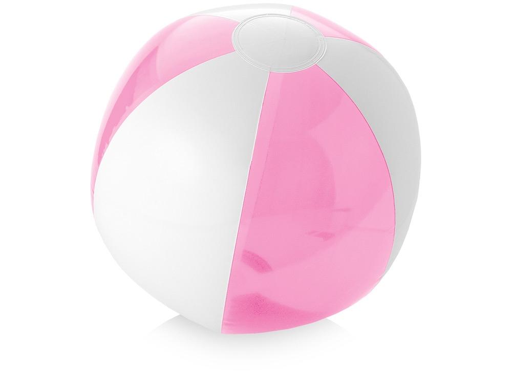 Пляжный мяч «Bondi», розовый/белый