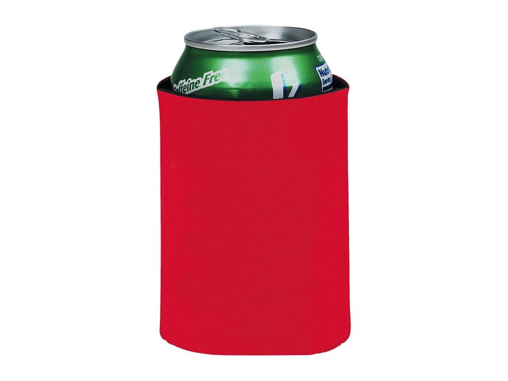 Складной держатель-термос Crowdio для бутылок, красный