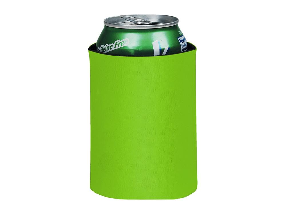 Складной держатель-термос Crowdio для бутылок, лайм