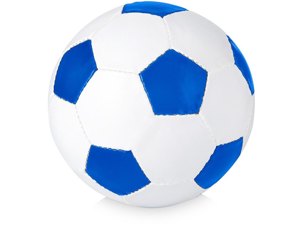 Футбольный мяч «Curve», ярко-синий/белый