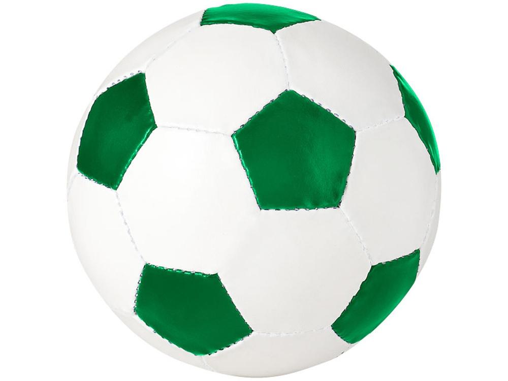 Футбольный мяч «Curve», зеленый/белый