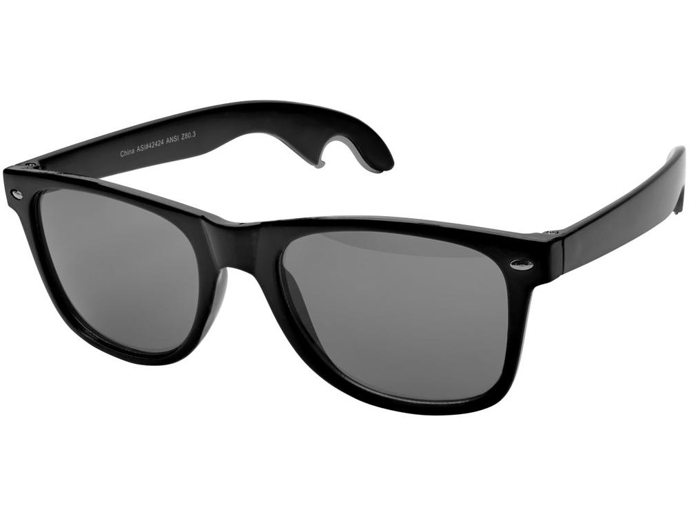 Солнцезащитные очки-открывашка, черный