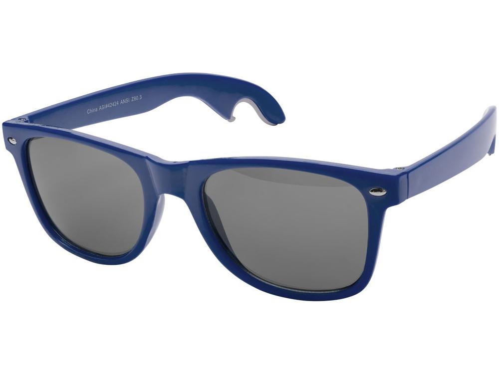 Солнцезащитные очки-открывашка, ярко-синий