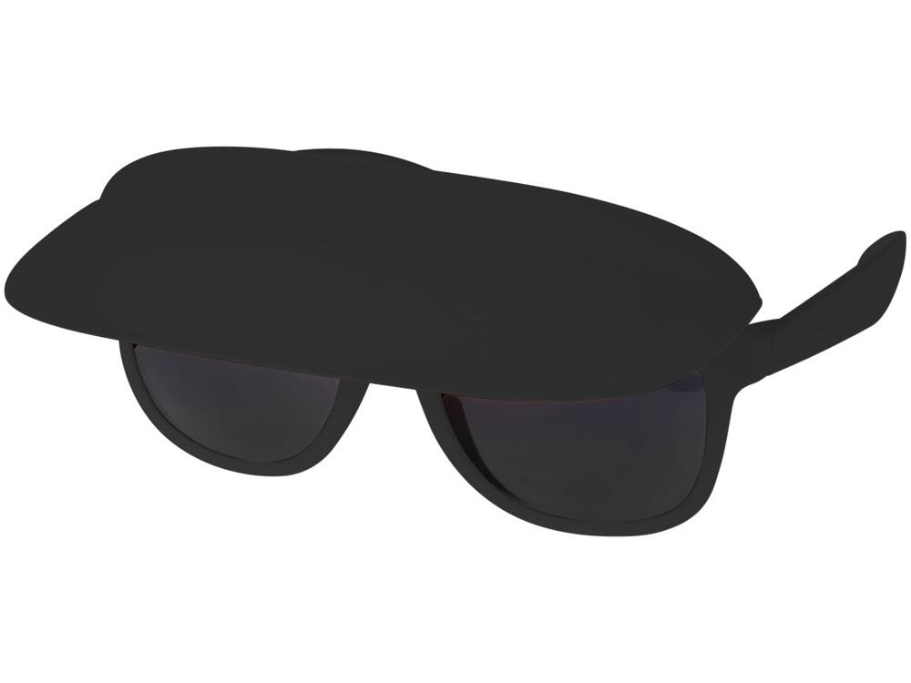 Очки с козырьком Miami, черный