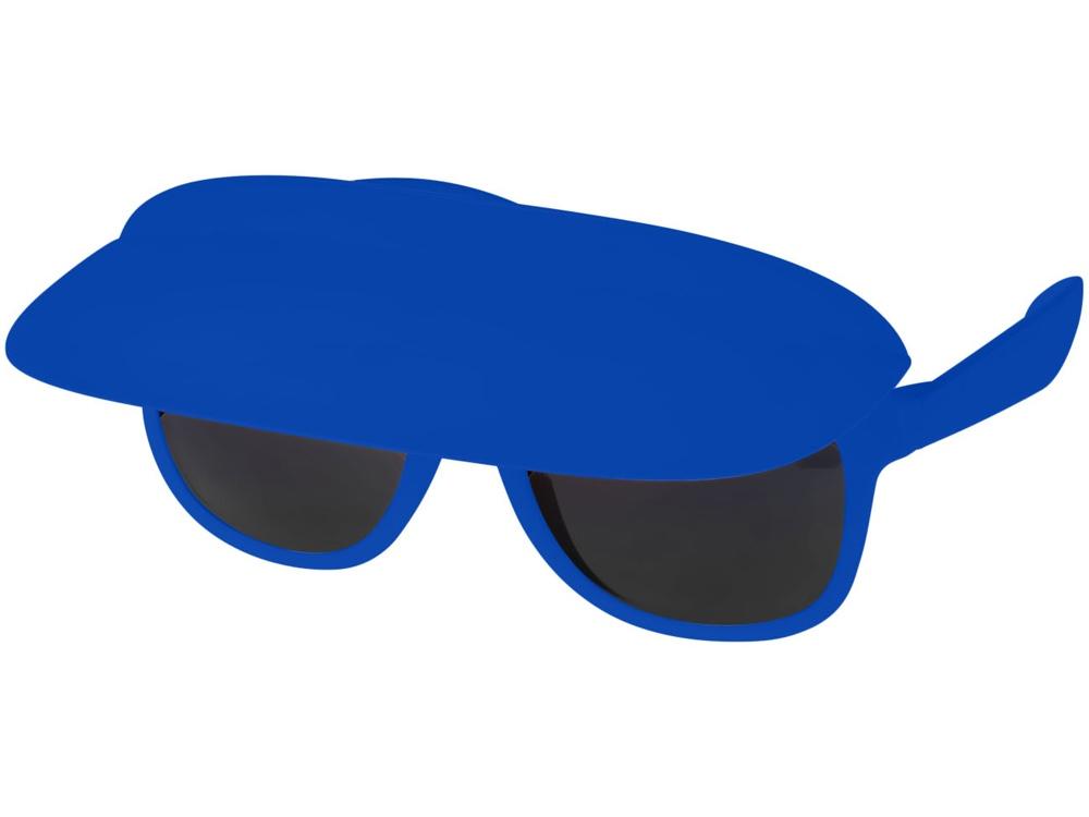 Очки с козырьком Miami, ярко-синий/черный