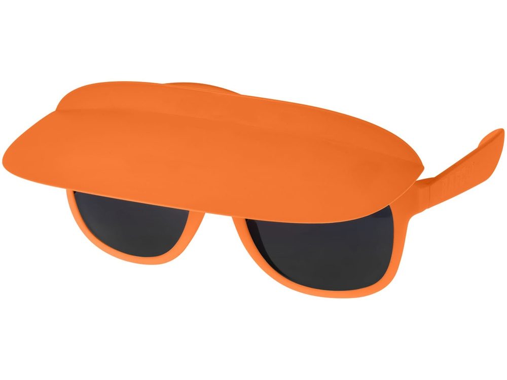 Очки с козырьком Miami, оранжевый/черный