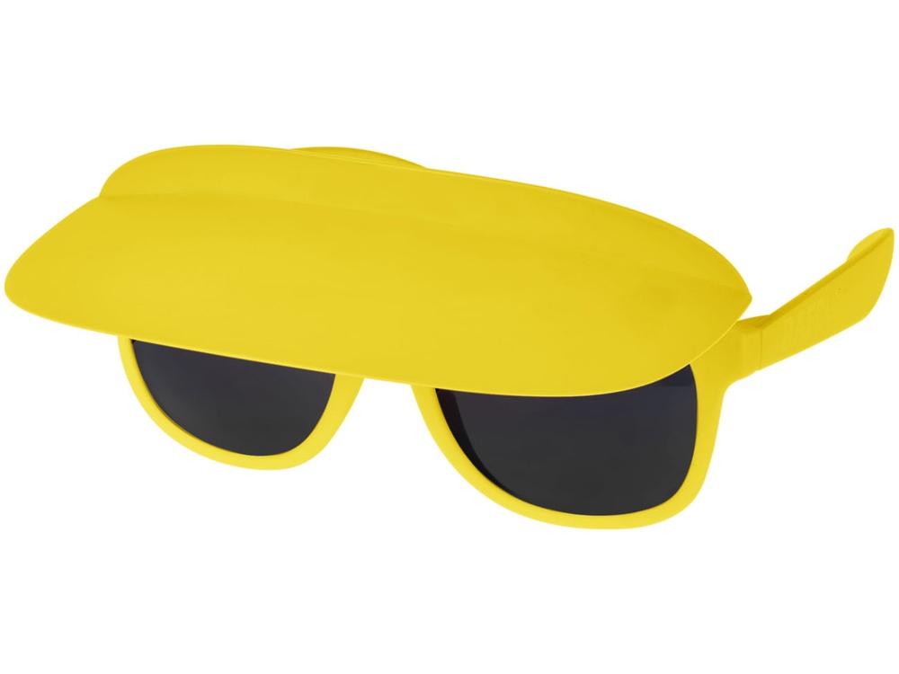 Очки с козырьком Miami, желтый/черный